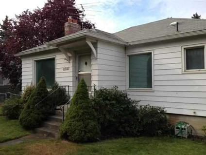 $155,000 Spokane Three BR One BA, Classic Millwood Rancher! Lots of perks in