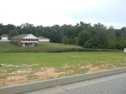 $25,000 Andalusia, Nice High lot in popular Ashley Pointe