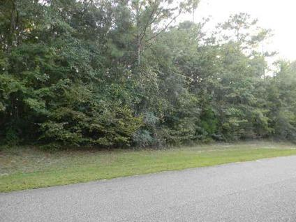 $31,500 Andalusia, GORGEOUS LOT WITH 284' FEET OF ROAD FRONTAGE.