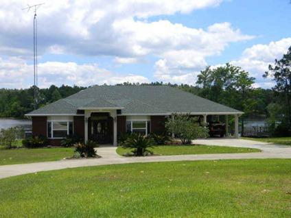 $545,000 Andalusia 3BR 2.5BA, All brick gorgeous waterfront home.