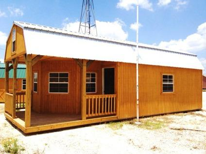 $8,965 12x34 Deluxe Lofted Barn Cabin