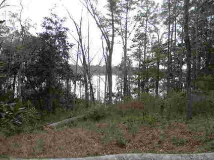 $95,000 Andalusia, This lot has a view of beautiful Gantt Lake.