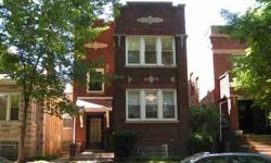Great solid brick two flat. Features
