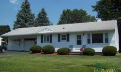 Pristine three bedroom ranch. Vinyl sided, all new replacement windows, attached two stall garage. All appliances remain including washer and dryer. Big back yard with garden shed. For more information or to contact us please visit http