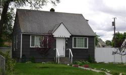 Cute 1-1/2 story Bungalow with over 1700 sq ft. 3 bedrooms, 1 bath with partially finished basement with family room. Master Suite is upstairs with plank floors and private setting. Freshly painted living room with gleaming hardwood floors. 2 bedrooms on