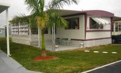 Ouest coast, senior community parc 55 + Co-Op w/Share, 1977, 14x66, Furnished, 2BD,2BT, A/C, Laminated Floors, Lanai, Screen porch, Shed, Carport, Roofing 2007. Maintenance 100.00$/month. Ask