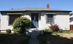Take A Look At This One! Perfect starter home! Beautiful original hardwoods throughout, updated kitchen and bath, large living room, fresh new neutral paint, and new roof. Room for 4th bedroom and bathroom downstairs, plenty of built-in storage, close to