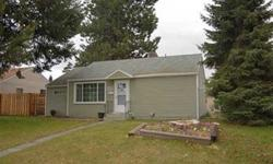 APPROVED SHORT SALE! Upgraded Shadle rancher. 3 Bedroom 2 Bath, vinyl siding and a large fence backyard with shop. Convenient location close to schools, churches and shopping. Great opportunity to be a home owner in a nice house, ready for you to come in