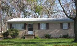"""***OWNER FINANCING*** We want to owner finance this wonderful, well kept-up, 3 bedroom 1.5 bath Pretty Brick Rancher...newer a/c , beautiful hardwood floors, """"not distressed by any means""""...Super large fenced in back yard...very nice neighborhood, even"""