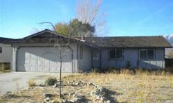 Fixer Upper in the Gardnerville Ranchos - Located on a nice family street.Lisa Wetzel is showing this 3 bedrooms / 2 bathroom property in Gardnerville, NV. Call (775) 781-5472 to arrange a viewing.
