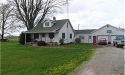 Country home on 5 acres near interstate and factories. Attached garage and breezeway. Newer replacement windows and HVAC. Total electric. Listing originally posted at http