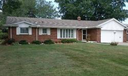 Full brick ranch in excellent condition attractive entry updated kitchen cabinetry wainscote in family room full ceramic bath spacious utility half bath top location!Listing originally posted at http