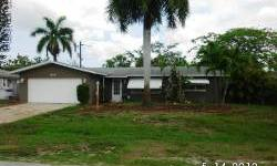 DESIRED MCGREGOR CORRIDOR. THREE BEDROOM POOL HOME!! TILE AND WOOD LAMINATE FLOOR THROUGHOUT. THREE BEDROOMS,TWO BATHS,LARGE FAMILY ROOM LEADING TO LANAI AND OPEN POOL AND LARGE