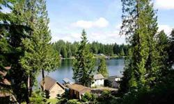These 2 premium building lots provide the perfect spot to build your dream home with an expansive view of lake roesiger.