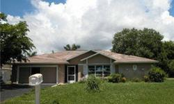 Nice 3 bedroom 2 bath home on oversized lot 4 miles to downtown Naples. Granite in baths.property sold as is w/right to inspect. Seller makes no representations nor warranties as to its condition. Special addendum applies. Cash offers require POF. Cash tr