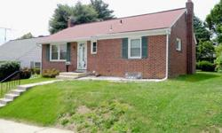 Great starter house, new roof, windows and exterior doors in 2007, new gas furnace in 2009, finished basement w/full modern bath and fireplace! Possible off street parking, rear alley access, no through traffic. $129,900. Contact Mike Cramer, (717)