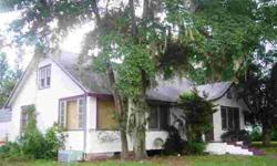 Really old fashioned home style charm in this 2 story home, with real wood floors and spacious rooms, fireplace, large 2 car garage and nice corner lot w/over 1/4 acre of land. Also, it has 2 A/C's and newer roof and appliances. They just do not make them