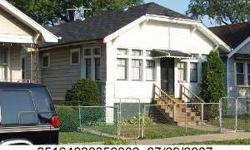 SHORT SALE. SECTION 8 TENANT OCCUPIED HOME. INVESTORS GET READY TO COLLECT WELL OVER $1,000 PER MONTH OR OWNER OCCUPANTS GET READY TO OCCUPY A HOME IN MOVE IN READY CONDITION. AREA SALES ARE INCREASING GET IN NOW AND EARN EQUITY (MONEY IN THE BANK). VERY