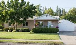 Brick Rancher across the street from Minnehaha Park. 3 bed, 2 bath. Wood floors. Huge 2 car garage. Extra large double lot. 2 apple trees, cherry tree and pear tree in addition to a great Garden. 18x24 Covered RV parking. Storage shed. Covered patio