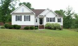 1 ACRE...Popular floor plan with 3 bedrooms 2 baths, hardwood floors, gas log fireplace, granite kitchen counter tops, custom cabinets, double attached garage, deck, and irrigation. Offered in present condition. Addendum apply. No HVAC Agent Remarks