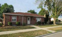 Immaculate and maintenance free, this brick ranch is move-in ready with new carpet and fresh interior paint. A great floor plan offers 2 separate living spaces, a bonus room that works well as an office or 4th bedroom, and a kitchen that opens to the