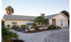 Short sale. Sale is contingent on lender approval. Live the Florida lifestyle! Beautiful, updated 3 BR, 2 bath home with indoor laundry room and fireplace. Enjoy the sunsets in this stunning home or fish in your backyard or jump in your boat and ride just