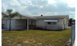 Live just off the Gulf of Mexico!!! This home comes with some furniture, including a refrigerator, washer and dryer. There is also a dock for boat access into a waterway that leads right out on to the Gulf. There are no HOA fees here. Welcome home to the