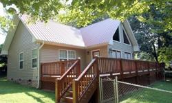 Walk to downtown Blue Ridge!!! Perfect vacation or full time home. Excellent cond. 2/2 within walking to heart of downtown. Both bdrms and baths on main. Large open loft could be 3rd bdrm. SS appliances, fenced yard for pets, gas fp. All hardwood floors,