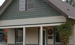 Home for the holidays! Over-sized main floor master bedroom w/ large double closets, 2 upstairs bedrooms w/ huge closets for the kidos. Some of the many updates include the new roof, siding, furnace, windows, electrical panel/lighting, paint, insulation,