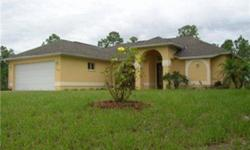 This lovely Concrete block 3/2 with a 2 car attached garage home has gorgeous travertine marble floors in the living areas and both bathrooms.. The open floor plan with a formal dining area and an eat in kitchen surrounding the great room is perfect for