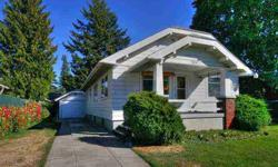 This 1931 craftsman bungalow has had only two proud owners. Original oak floors plus extensive cedar woodwork and moldings enhance the charm and character of the main level. Large living and dining room combination. Knotty pine, cedar and mahogany present