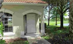 """""""SHORT SALE"""" 2 bedroom, 2 bath, 1 car garage with spectacular golf and lake views. Seldom available, end unit.Tile roof,volume ceilings, with a great room floor plan. This condo has an enclosed lanai overlooking the golf course and 2 lakes.No Mandatory"""