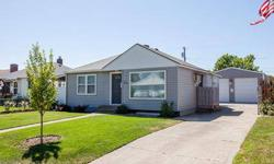 Mint Condition 1943 Rancher. 3 bed, 2 bath with updated kitchen and baths. Turn key and ready to move into. The deck overlooks the fenced back yard and HUGE Detached garage/ shop that is 24x40 and has 10 ft doors.Listing originally posted at http