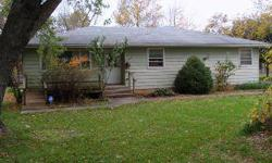 Sitting at City's SW edge on 3 acres with some fruit trees and outbuildings. The ranch home is a one owner home and offers steel siding and handicap ramps to the front door and deck. There are 3 nice sized BR's a GR and FDR. Wood floors are in all but 1