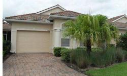 Short Sale. 2 bedroom, 2 bath, 1 car garage maintenance free home, gated community. Sarasota address with Manatee taxes/utility. No CDD, near beaches, entertainment, restaurants and shopping. Clubhouse with pool and play area, tile roof and paved driv