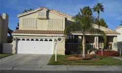 Absolutely Beautiful 2-story home features 3 bedrooms,2.5 baths,2 car garage. Lovely swimming pool at back with patio. Fun for whole family! Formal living room,separate family room with cozy fireplace. Tile countertops,spread brkbar in kitchen. Master bed