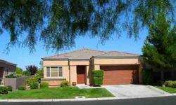 Charming & Immaculate FULLY FURNISHED 3 Bedroom/ 2 Bath One Story Home in Peaceful Gated Community W/Pool & Spa In The Heart of Summerlin! Nice Great Room Floorplan w/Toasty Fireplace and Open Kitchen w/Breakfast Bar & Nook! Spacious Master Bedroom w/