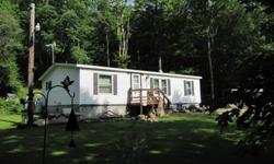 This is the perfect home for those looking to downsize or for a first time home buyer. With a generator hook up you are always covered. Use the woodstove to save on your heating bills! Includes a 1 acre lot directly to the right of the property. (245 ft