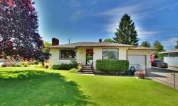 This home comes spotlessly clean on a large manicured corner lot, fully fenced front and back!! A Solid 50's rancher with great updates and newer carpet, beautiful hardwoods under carpeting! Attached garage, forced air gas heat & central air. Covered
