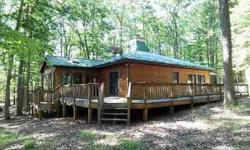 Have your own private vacation oasis! This 1512 sf contemporary rancher is move-in ready on 6.53 wooded acres with community access to the Cacapon River. Features include 2 BR, 1 BA, spacious living room with woodburning fireplace, Florida room with