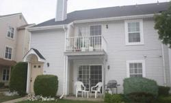 Beautifully maintained 2nd floor end unit with real floors in the living and dining rooms and hallway. New windows in 2011 throughout. HVAC is 4 years old. Updated bath. Ceiling fans and new lighting fixtures. Balcony with large storage shed. Washer,
