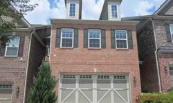 Beautiful all brick Deerfield Landing townhome with 2 car garage mint condition. HOA $199/mo. Large master suite with huge closets, $0 inspection repairs for FHA mortgage! Large spacious kitchen. Hardwood floors on main. Sold 'AS IS' info deemed reliable