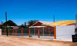 This is a rare opportunity to own a home in Los Algodones, the safest border city in Mexico, with tens of thousands of Winter Visitors every year. This completely renovated 2x6 constructed home on a double lot is located in the nicer area of Los