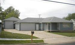 Great house with detached shop (heated & cooled)! 3 bedrooms, 2 bathrooms including a master suite. Covered patio, central air conditioning & room to grow in the unfinished basement!