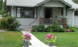 Charming South Hill Craftsman Bungalow! Vintage Charm, Period Finishes, Wood Floors, Quaint Built In's, Kitchen Nook, Serene & Private Backyard! 2 Bedroom, 1 Bath on Main Level, I non egress Bedroom & Bath in Lower Level.Listing originally posted at http