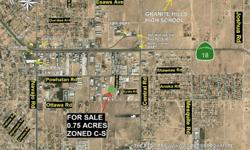 PRIME, PRIME COMMERCIALLY ZONED .75-ACRE LAND PARCEL ON PAVED MALAKI ROAD. LOCATED IN AN ESTABLISHED BUSINESS PARK. SITUATED CLOSE TO MANY COMMERCIAL BUILDINGS IN THE HEART OF THE APPLE VALLEY CITY LIMITS.This 0.75 acre Property is located on Malaki Rd.