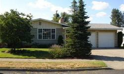 This wonderful NW Ranchers has so much to offer, 4 bds 2 bas updated kitchen (appliances stay) french doors to den/bedroom, hardwood floors, two fireplaces, all new vinyl windows, 2 car garage, patio & deck, landscaped backyard, fenced bkyard, sprinkler