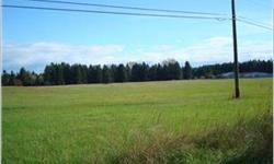 Back on market! Seller has resolved easement issue & is in the process of finalizing it. This is a beautiful property, close to all amenities. 15.04 level acres pasture land, with some marketable timber and Mt. Rainier view. Great investment potential or