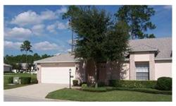 Owner Financing with Good Credit Rating up to 80% of Accepted Purchase Price! Lovely Spacious End Unit Villa with 10' Ceilings, Great Room or Living/Dining Area; Florida Room; Kitchen with Bisque Cabinets/Corian Counters & Sink/Recessed Lighting;