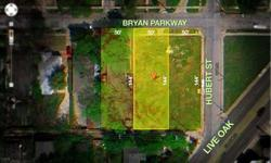 Vacant lot zoned Multifamily 2 is adjacent to 2 other lots zoned MF2. Adjacent lots available for sale to do a project which would result in approximately 150' x 144' in total - conduct survey for exact measurements. Ideal location just off of Live Oak